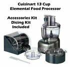 Cuisinart FP-13DSV Elemental 13-Cup Food Processor w/ Accessories and Dicing Kit photo