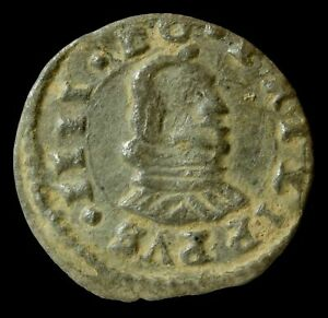 1661?, 8 Maravedis Philips IV, Madrid Mint - 19 mm / 1,82 gr.