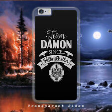 VAMPIRE DIARIES/TEAM DAMON SALVATORE/HARD PLASTIC/PHONE CASE/COVER FOR IPHONE