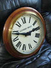 Superbe et grande horloge BRILLIE ELECTRIQUE 53 cm (no Ato, Lepaute)