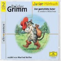 MANFRED STEFFEN - BRÜDER GRIMM-DER GESTIEFELTE KATER & ANDERE MÄRCHEN  2 CD NEU
