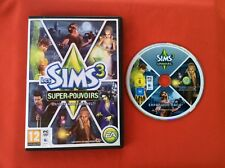 SIMS 3 LES SUPER POUVOIRS DISQUE ADDITIONNEL PC CD-ROM MAC PAL COMPLET VF