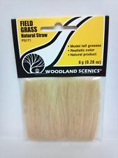 Woodland Scenics Field Grass #171 Natural Straw FG171 Model Train Scenery - New