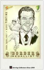 2008-09 Select Cricket Alan Border Medalist Sketch Card BMS5 Ricky Ponting