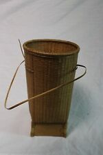 Montagnard Vietnamese Carrying Basket, Rice Tea Backpack, Hand Woven