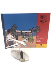 En Avion Tintin le vol air india tintin au tibet  N27 + livret