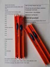 10 Nitinol Wire Stem Pole Rigs  SLIM CHIMP LONG DIAMOND STEADY choose any combo