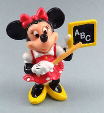 "Vintage 2"" Disney Minnie Mouse ""Teacher"" PVC Figure by Applause"