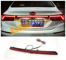 Red Rear Door Trunk LED Tail Light Cover For Kia Forte 2019 2020 Accessories