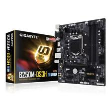 Gigabyte GA-B250M-DS3H Scheda Madre, Interfaccia mATX, Socket Intel 1151, Nero