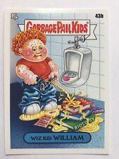 Garbage Pail Kids Topps 2020 Sticker Late For School 43b Wiz Kid William