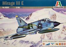 Italeri #2634 1/48 Mirage Iii E w/7 Decal Options Model Kit