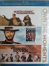 Butch Cassidy And The Sundance Kid, The Magnificent Seven, Good Bad Ug (Blu-ray)