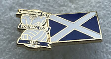 Rare Birmingham City Supporter Enamel Badge - Blues & Scotland Design - Rangers