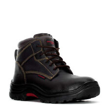 Skechers Men's Burgin-Tarlac Brown Leather Steel Toe EH  Size 11-M  NWOB