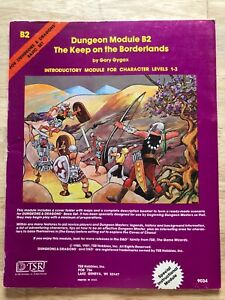 Vintage - Dungeons & Dragons - The Keep on the Borderlands - 4th Printing - Exc!