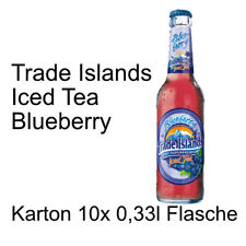 Trade Islands Iced Tea Blueberry 10 Flaschen je 0,33l