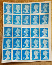 More details for 25 genuine 2nd class stamps unfranked off paper new strong gum self-adhesive