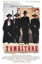 """Tombstone - Movie Poster / Print (Regular Style / White) (Size: 27"""" X 40"""")"""
