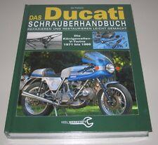 Schrauberhandbuch Ducati Königswellen V-Twins 1971 - 1986 Reparaturanleitung NEU