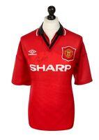 Ryan Giggs Signed Shirt Manchester United Autograph 94/96 Jersey Memorabilia COA
