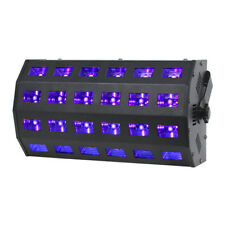 Equinox UV Power Flood Ultraviolet Blacklight 24 x 3W DMX DJ Disco Neon Rave