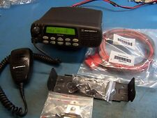 Motorola CDM1550 UHF 403-470MHz 40 Watt 128 Channel Tested, Rare Unit,  Mint