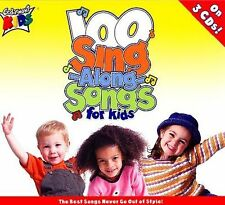 CEDARMONT KIDS - 100 SINGALONG SONGS FOR KIDS (NEW CD)