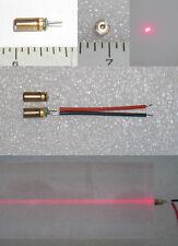 650nm 3mw ultra mini 3x12mm laser module 3-5VDC built in ACC