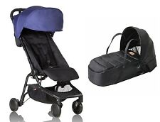 Mountain Buggy  Nano Stroller and Cocoon In Nautical Blue Brand New!!