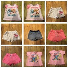 Twin Girls Bundle Age 3-4 Years,4-5years & 5-6yrs -21 Items In Total See Photos