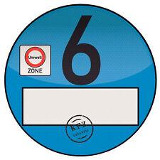 1x Adhesivo Protector Placa Azul Claro Distintivo de Polvo Fino Spassplakette 4