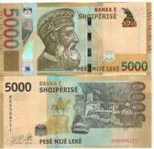 More details for albania - 5000 leke, their highest denomination in perfect unc. condition.