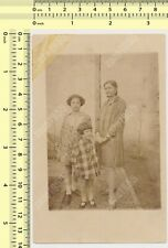 1930's Woman & Girls Three Females Lady Children Portrait vintage photo original