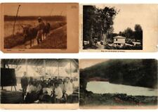 INDONESIA, ASIA, DUTCH INDIES, 59 Vintage Postcards ALL POOR CONDITION !