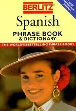 Berlitz Spanish Phrase Book & Dictionary (Berlitz Phrase Books S.)