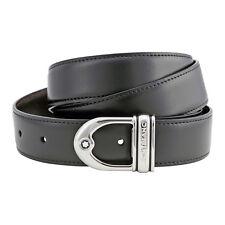 Montblanc Reversible Calfskin Leather Belt 9693