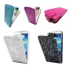 Metallische Samsung Handy-Taschen & -Schutzhüllen aus Leder