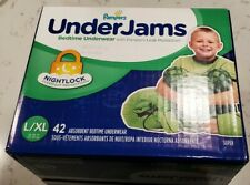 Underjams Bedtime Disposable Training Underwear For Boys, 42ct.,L/Xl New