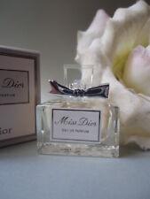 MISS DIOR 5ml EAU DE PARFUM 5ml Stunning New Modern Miniature Mint Gift Co Box