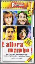 E ALLORA MAMBO film di Lucio Pellegrini -VIDEOCASSETTA NUOVA INCELLOFANATA 1999