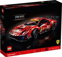 New! 42125 LEGO Technic Ferrari 488 GTE AF Corse #51 Set 1677 Pieces