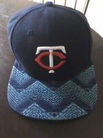 Minnesota Twins Mlb Baseball Hat Cap Snapback New Era 9Fifty