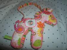 "Douglas Sassy Pet Saks Horse Zipper Purse 10"" Plush Soft Toy Stuffed Animal"