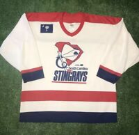 VTG South Carolina Stingrays ECHL Minor League OG 90s White CCM Hockey Jersey XL