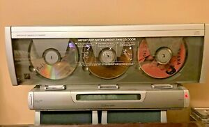 Emerson S3100 AM FM Wall Mount Triple CD Player Linear 3 CD Player Parts Only