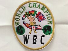 Alternative Patch WBC World Boxing Council Boxe World Champion
