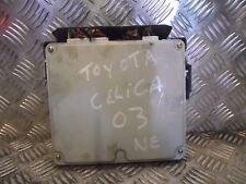 Toyota Celica 1.8 Gasolina ECU 2003 89661-2G420 17500-9511