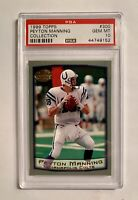 PEYTON MANNING, 1999 Topps Collection #300, PSA 10 Gem Mint, Indianapolis Colts