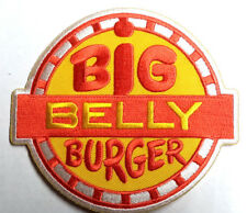 """BIG BELLY BURGER CW TV Series 4"""" Wide Uniform Patch- Mailed from USA(DCPA-BBB-J)"""